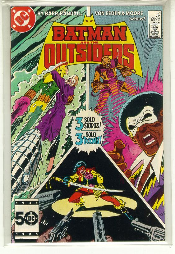 Batman and the outsiders  21