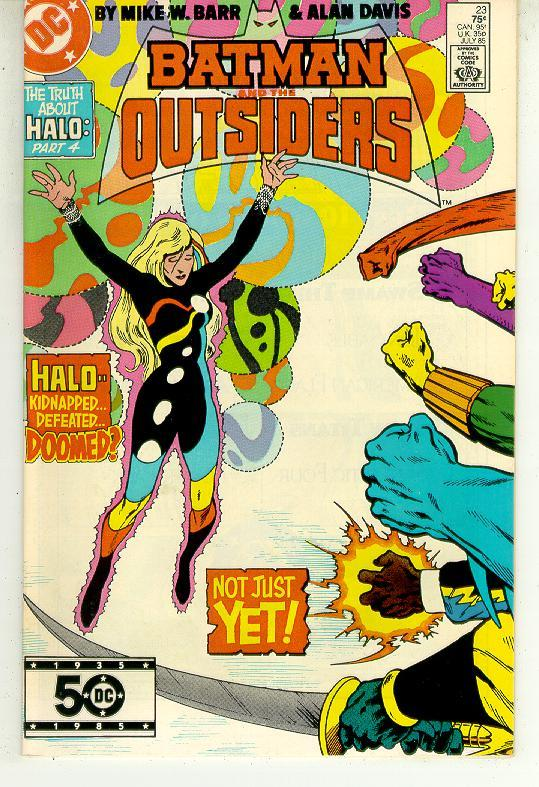 Batman and the outsiders  23