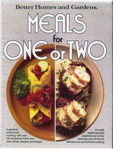 Better Homes and Gardens Meals for One or Two V... - $2.95