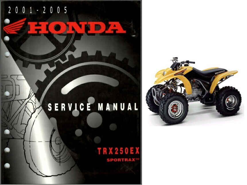 01-05 Honda TRX250EX Sportrax Service Repair Workshop Manual CD - TRX250 TRX 250