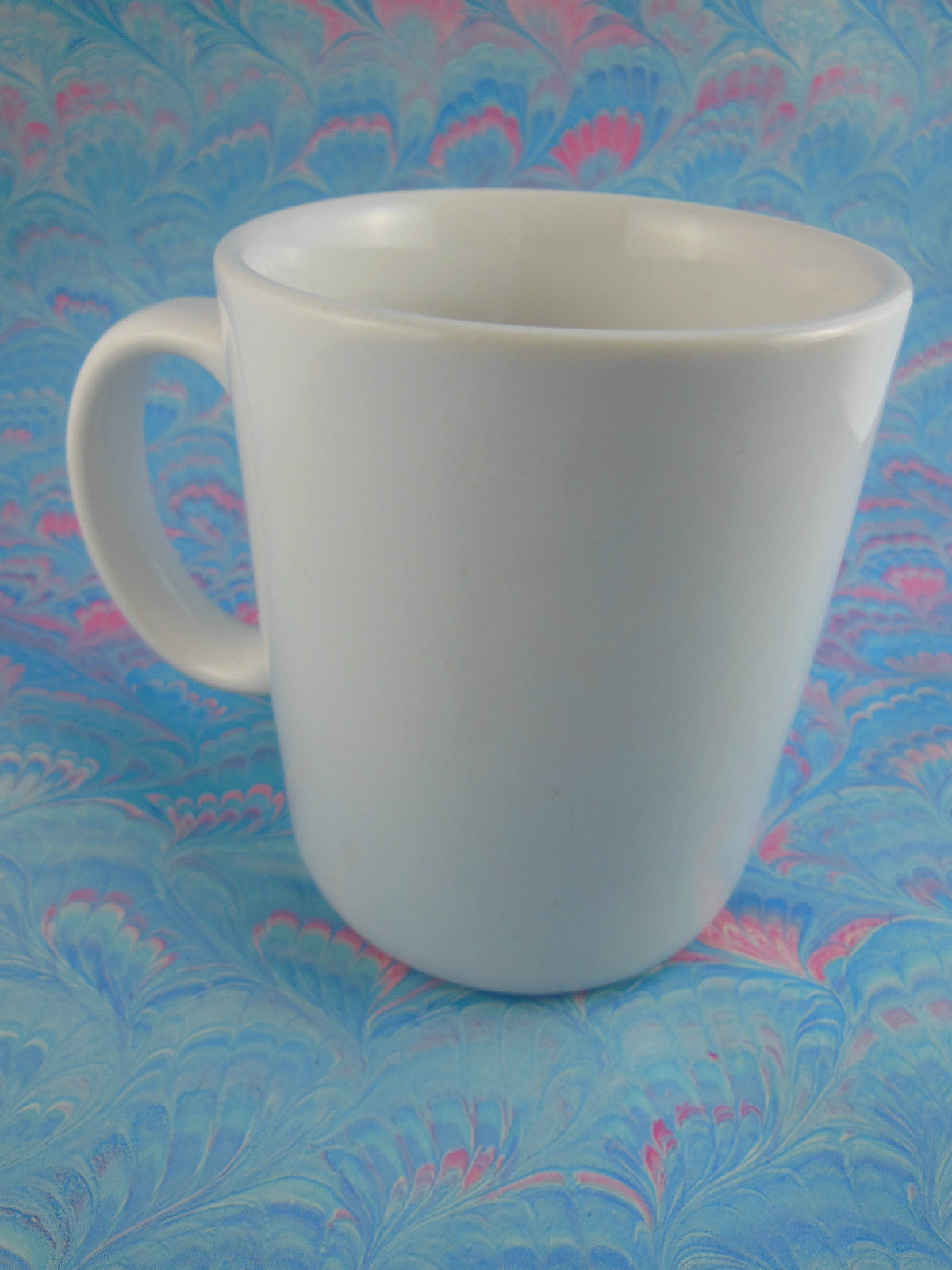 Vintage 1984 Olympic Games Swimming Mug Cup Papel