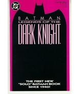 BATMAN LEGENDS OF THE DARK KNIGHT #1 (Purple) NM! - $2.50