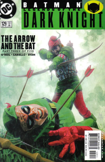 BATMAN LEGENDS OF THE DARK KNIGHT #129 NM!