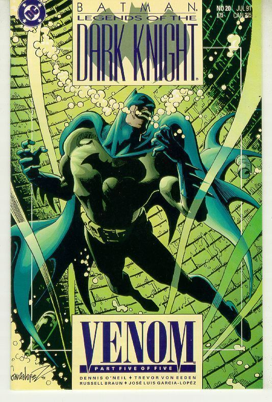 BATMAN LEGENDS OF THE DARK KNIGHT #20 (DC Comics) NM!