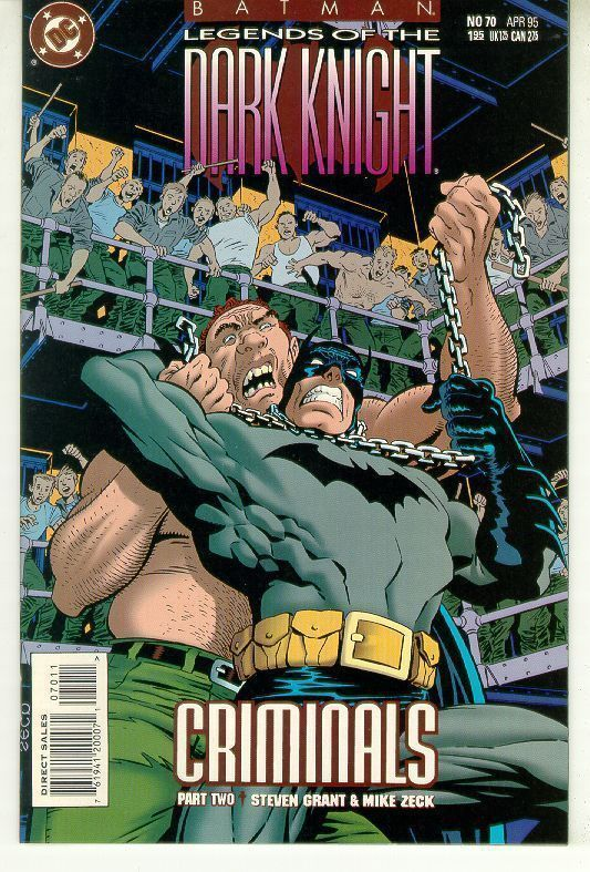 BATMAN LEGENDS OF THE DARK KNIGHT #70 (DC Comics) NM!