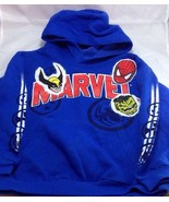 Marvel Mad Engine Marvel Characters Face  Blue Sweatshirts Hoodies Kids'... - $15.83