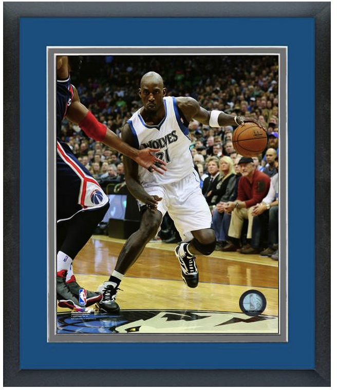 Kevin Garnett 2014-15 Minnesota Timberwolves - 11 x 14 Matted/Framed Photo