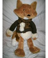 "Bath & Body Works Plush Bean 13"" HICKORY Brown Fox Doll - $5.99"