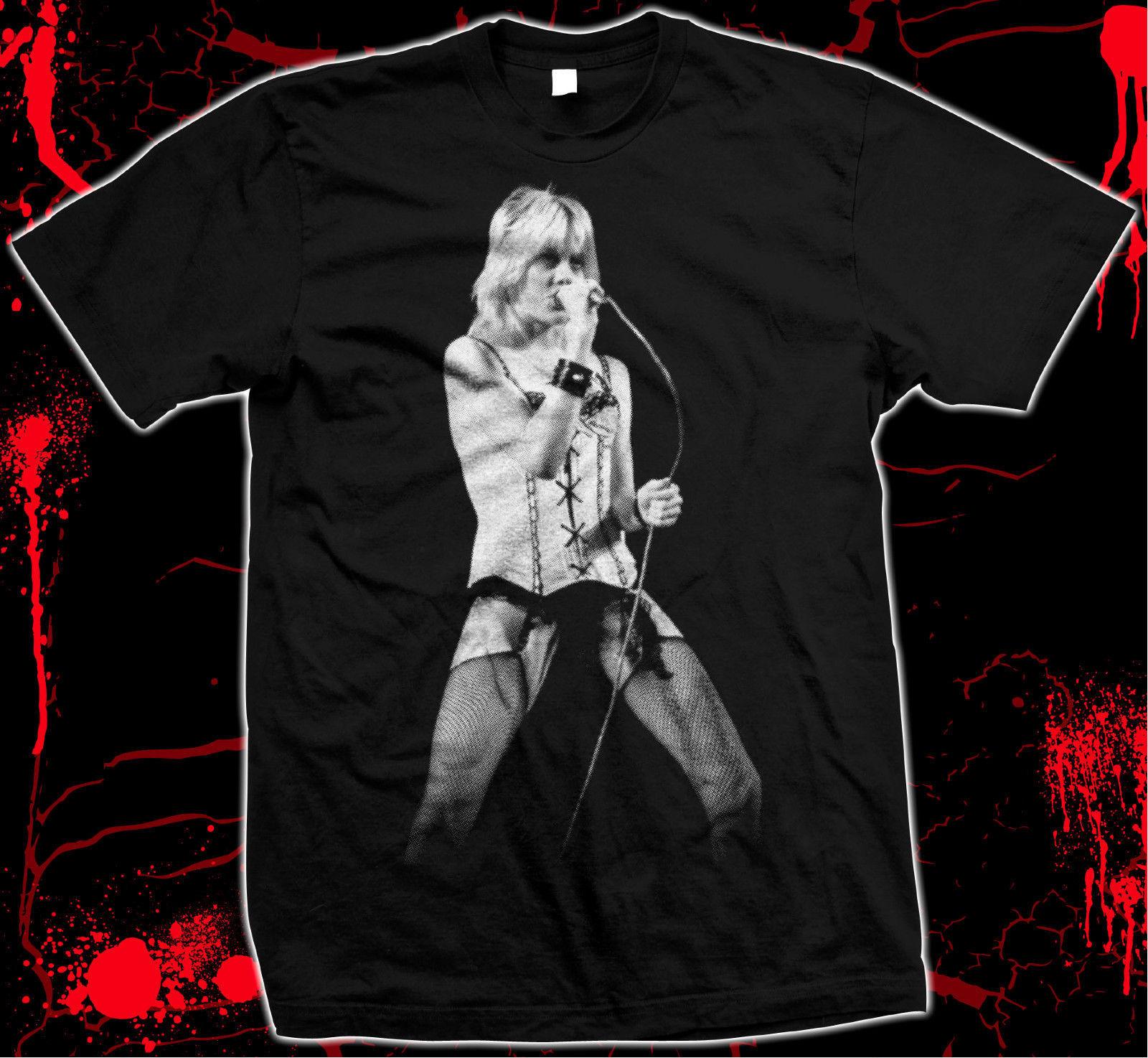 Cherie Currie - Runaways - Pre-shrunk, hand screened 100% cotton t-shirt
