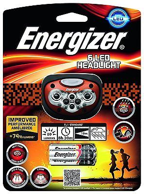 Energizer 6 LED Advanced Head Light Torch with 4 Modes Night Vision