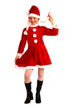 "LITTLE MISS SANTA'S HELPER GIRL'S LARGE SIZE SANTA""S HELPER CHRISTMAS CO... - $18.39"