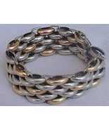 Gold and silver vintage bracelet - $110.00