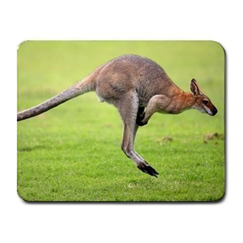 Jumping Kangaroo Mousepad - Animal Photography