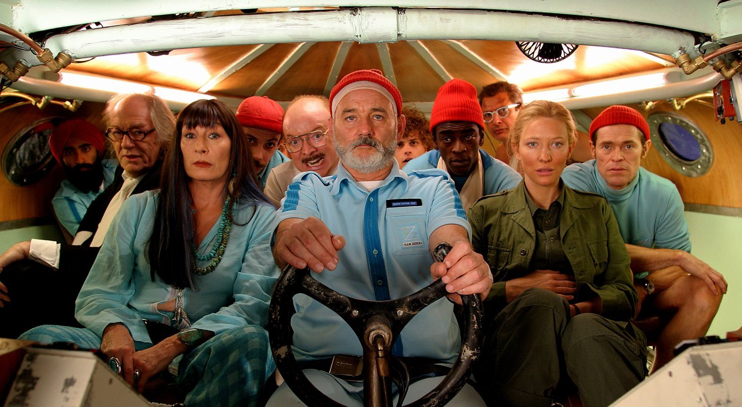 The Life Aquatic with Steve Zissou (Criterion Collection) [Blu-ray]