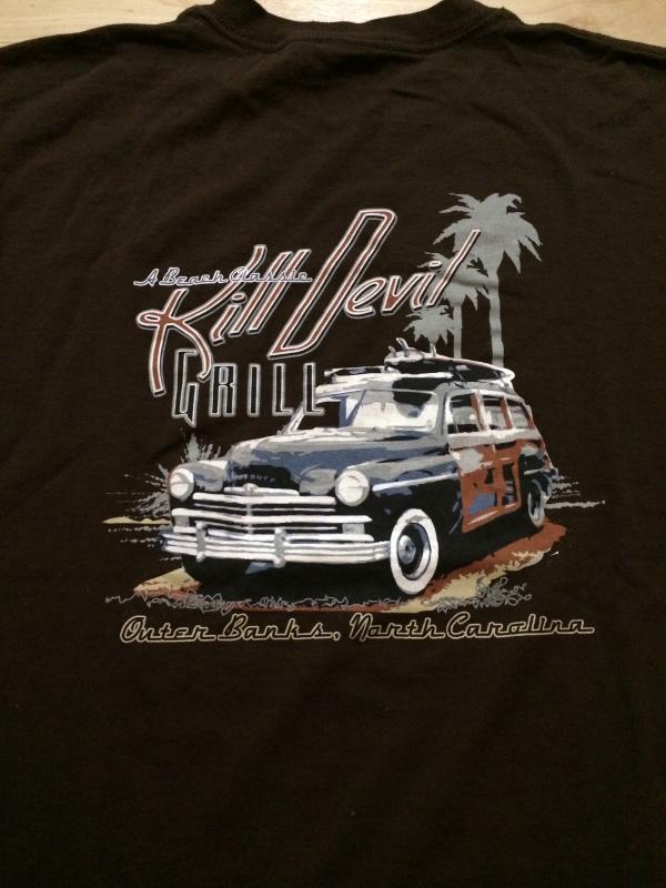 Kill Devil Grill Cool Outer Banks, North Carolina T-Shirt Sz Medium  Great Piece