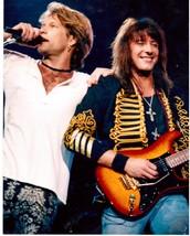 Bon Jovi Ricky Sambora 2 Vintage 8X10 Color Music Memorabilia Photo - $6.99