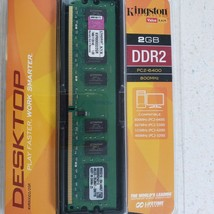 Kingston KVR800D2N5/2G 2GB DIMM-DDR2 800mhz PC2-6400 240-Pin Memory - $36.34