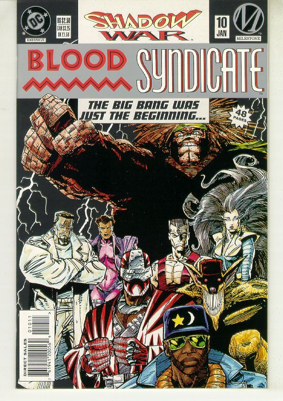 BLOOD SYNDICATE #10 (Milestone) NM!