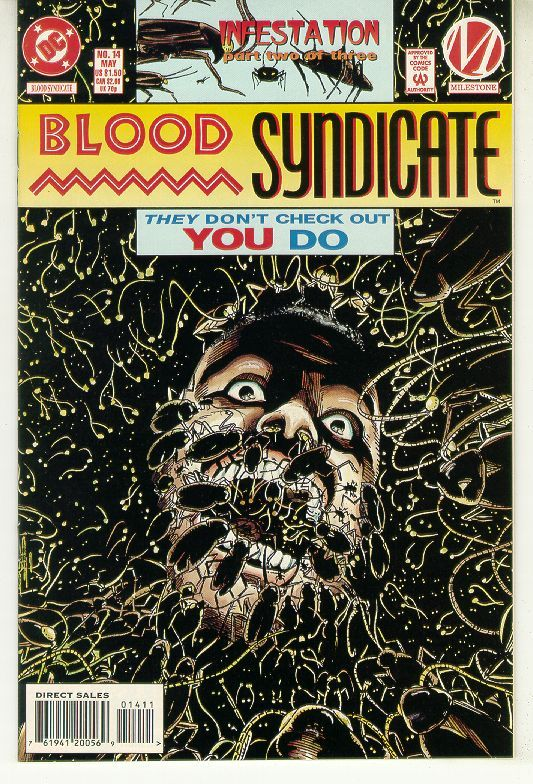 BLOOD SYNDICATE #14 (Milestone) NM!