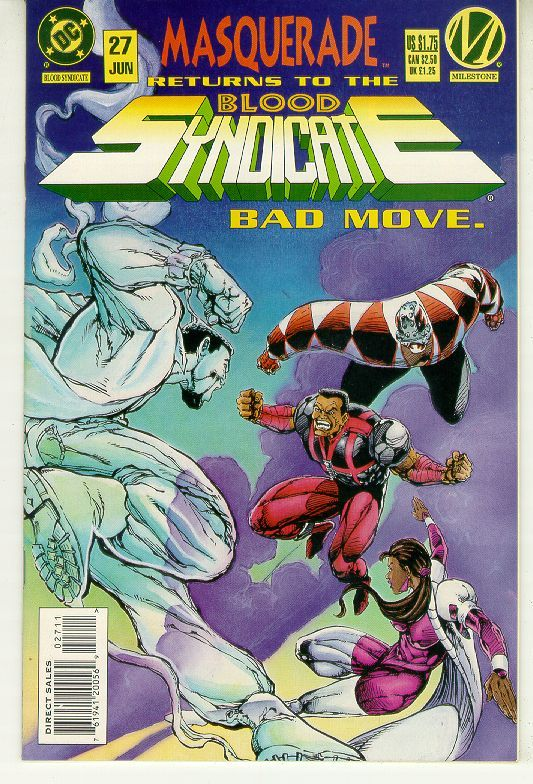 BLOOD SYNDICATE #27 (Milestone) NM!