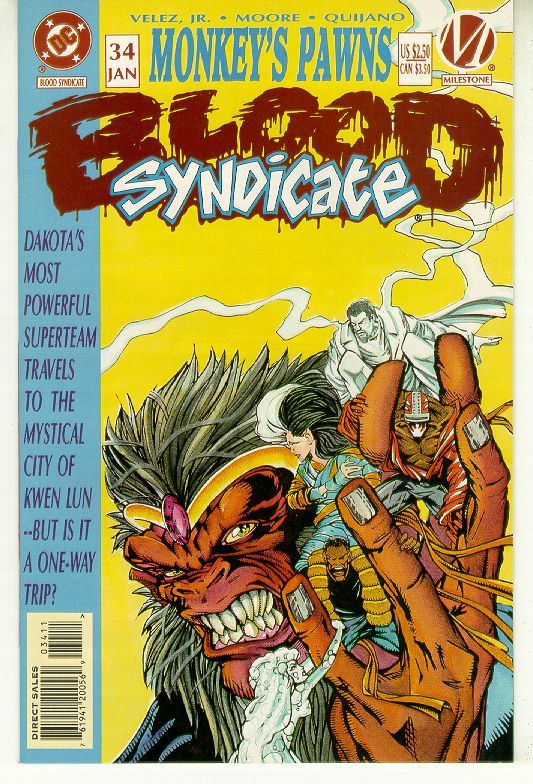 Blood syndicate  34