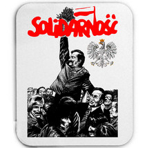 SOLIDARNOSC POLAND WORKERS MOVEMENT - MOUSE MAT/PAD AMAZING DESIGN - $12.36