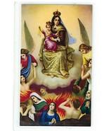 Laminated Prayer Card - Virgen del Carmen L-300.0056 - $1.99