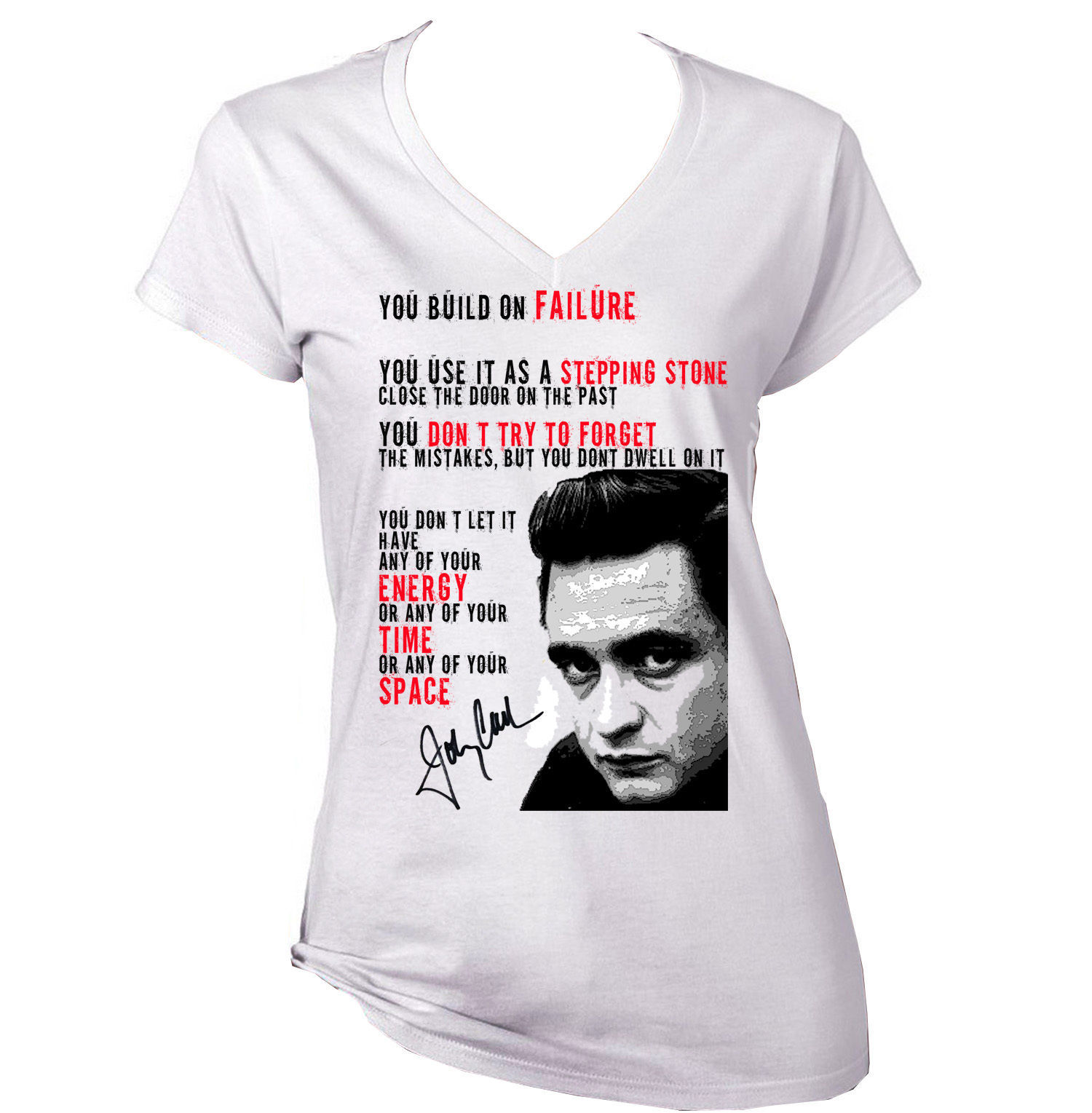 JOHNNY CASH QUOTE 1 - NEW AMAZING GRAPHIC T-SHIRT - S-M-L-XL-XXL
