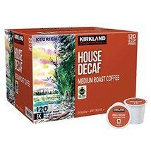 Kirkland Signature 1054232 House Decaf Coffee for 120 K-Cup Pods, medium - $59.39