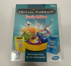 Trivial Pursuit Family Edition Trivia Quick Play Version  - $13.75
