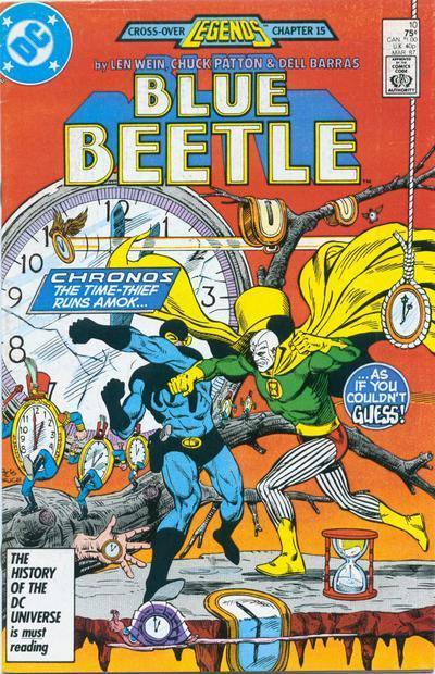 Blue beetle  10