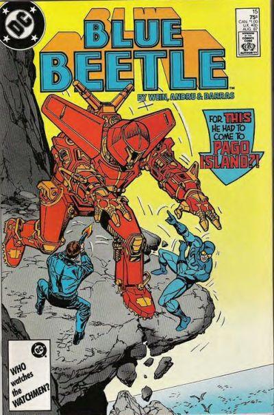 Blue beetle  15