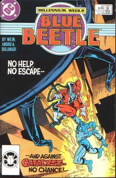 Blue beetle  20