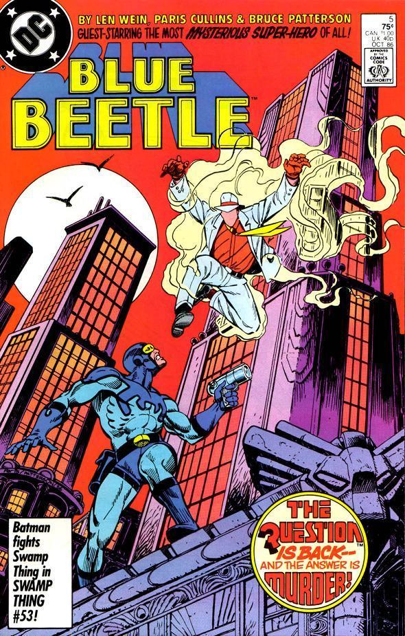 Blue beetle  5