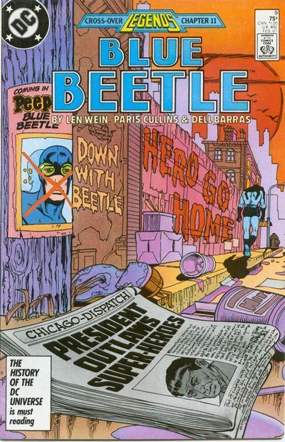 Blue beetle  9