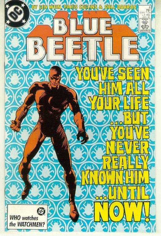 Blue beetle  8
