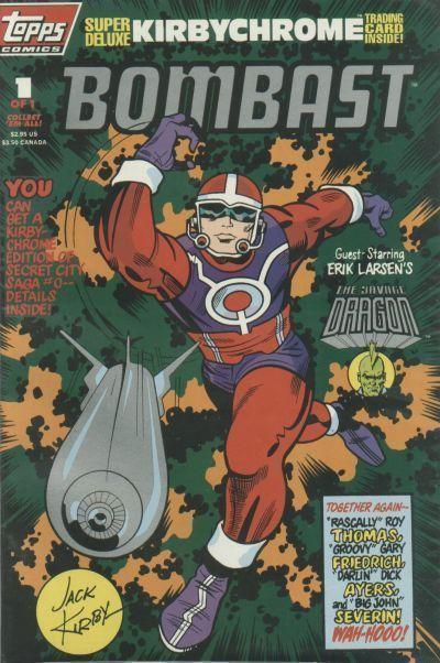 BOMBAST #1 (Topps Comics) NM! ~ Jack Kirby