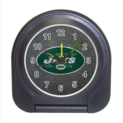 New York Jets Compact Travel Alarm Clock (Battery Included)