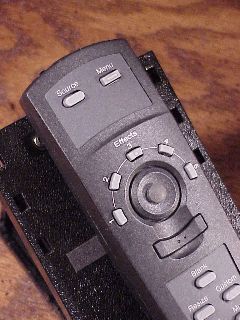 Epson Projector Remote Control, no. 7544009, used, cleaned and tested, Japan