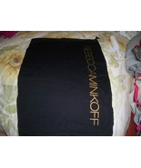 Designer Sleeper/ Dust Bag Rebecca Minkoff Cotton with Gold  Logo - $8.99