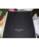 Designer Sleeper/ Dust Bag Rag & Bone New York Black  Cotton with White ... - $6.99
