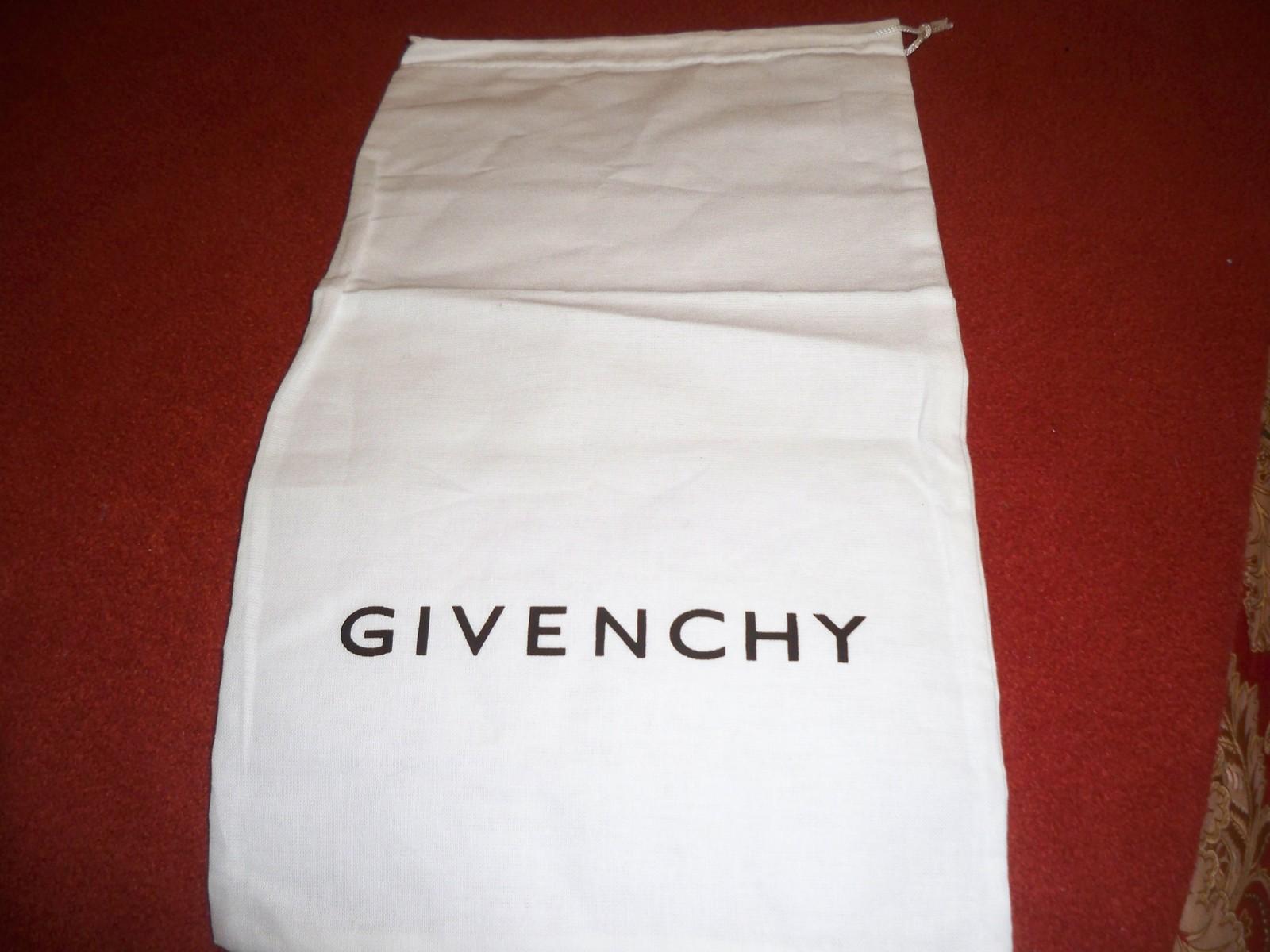 New Designer Sleeper/ Dust Bag Givenchy White with Black Logo