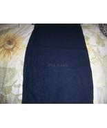 Designer Sleeper/ Dust Bag Prada Navy Cotton with Navy Logo - $6.99