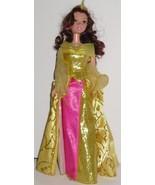 Princess BELLE Doll Disney gown & shoes w/sound - $53.99