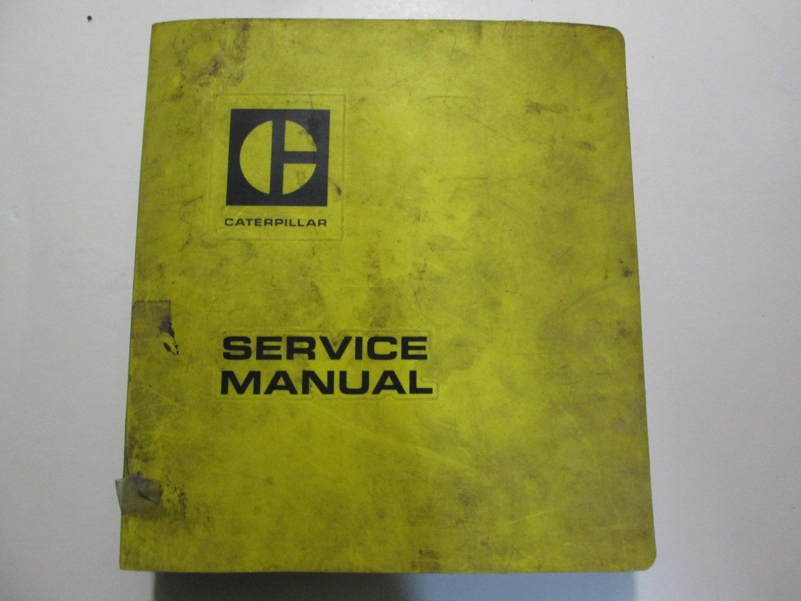 Caterpillar T60C Thru T120C Lift Tricks Service Manual USED OEM CATERPILLAR