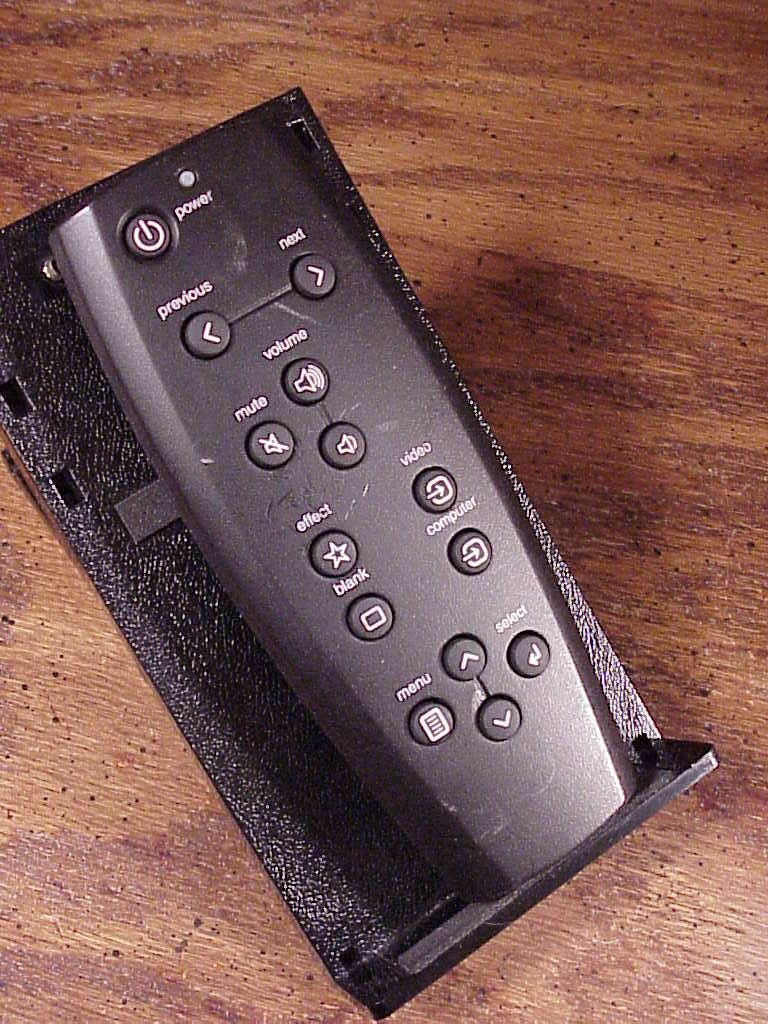 InFocus Proxima Navigator Projector Remote Control, no. 50-32116, used, tested