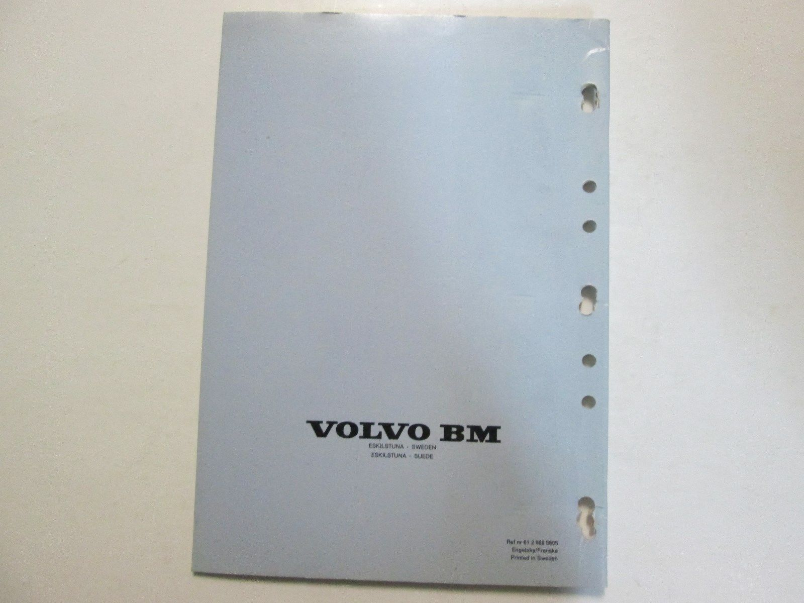 Volvo BM Symbols For Fluid Diagrams Compendium Manual USED OEM VOLVO