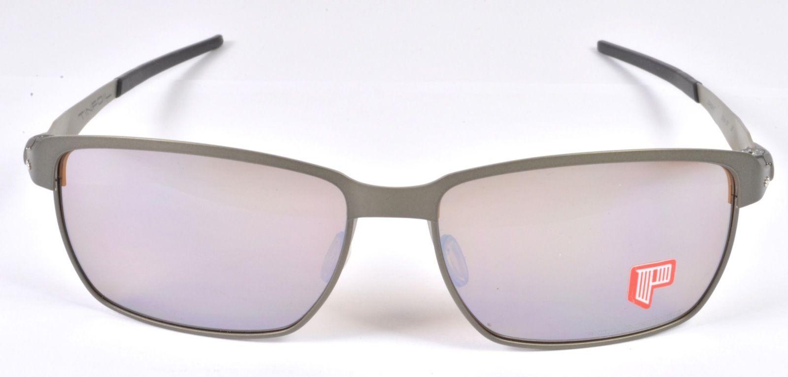 6ad2d6ca3f Oakley TINFOIL POLARIZED Mens Sunglasses - Carbon   Ti Iridium - OO4083-07  - Sunglasses