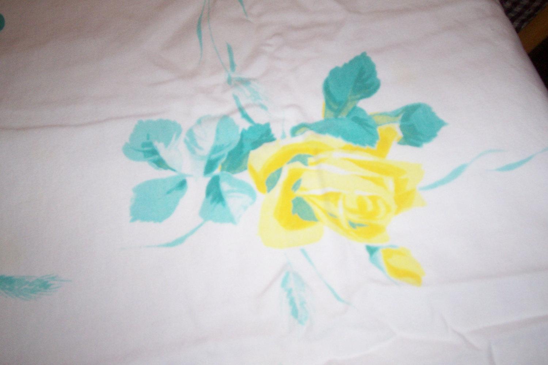 Vintage floral wilendure yellow roses