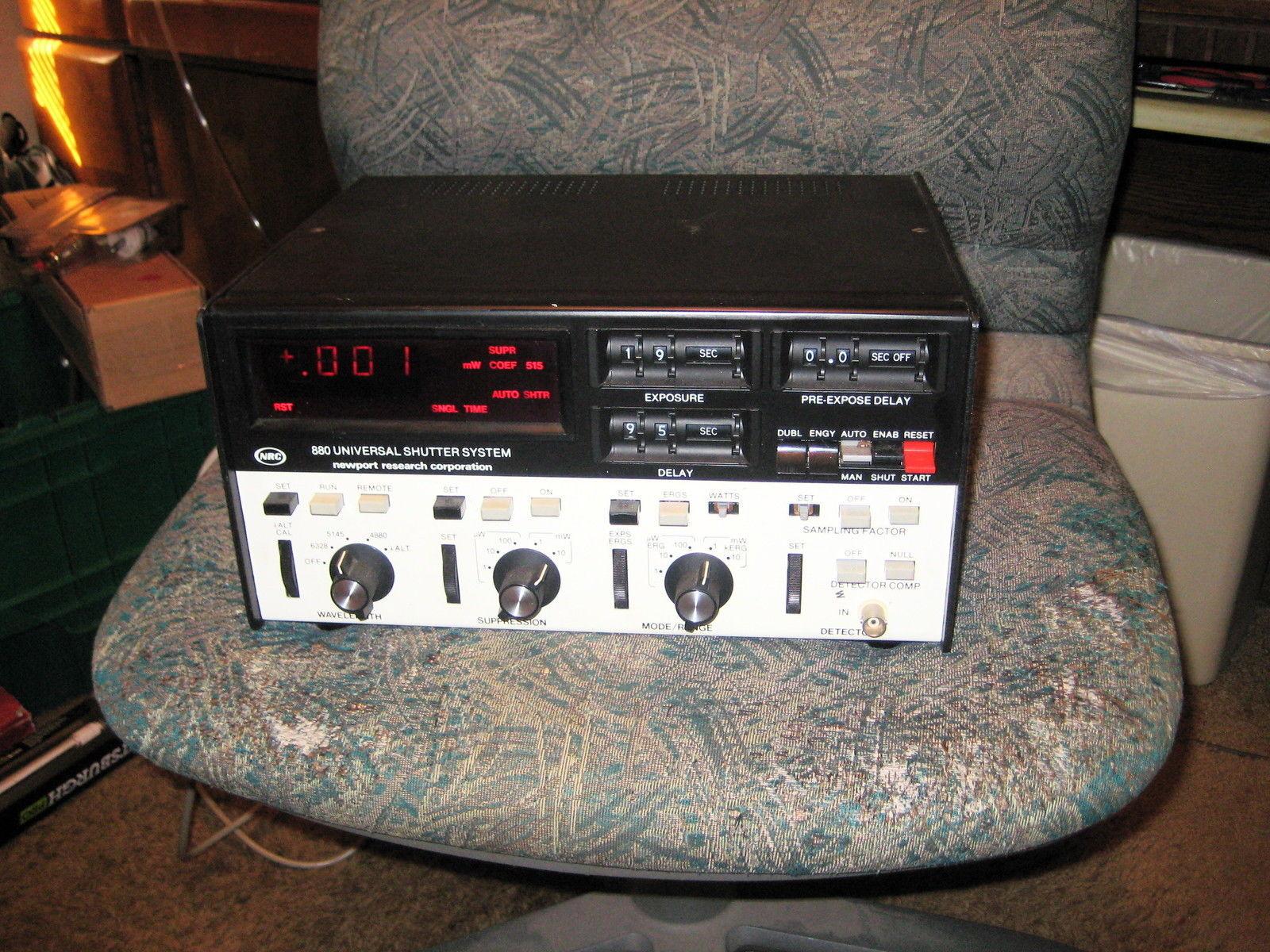 NRC-- 880 Universal Shutter System